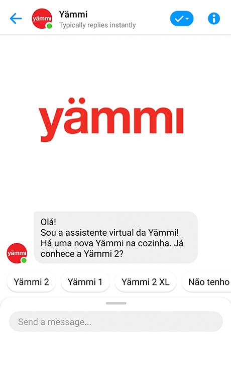 logo do case relacionado: Yämmi - Chatbot